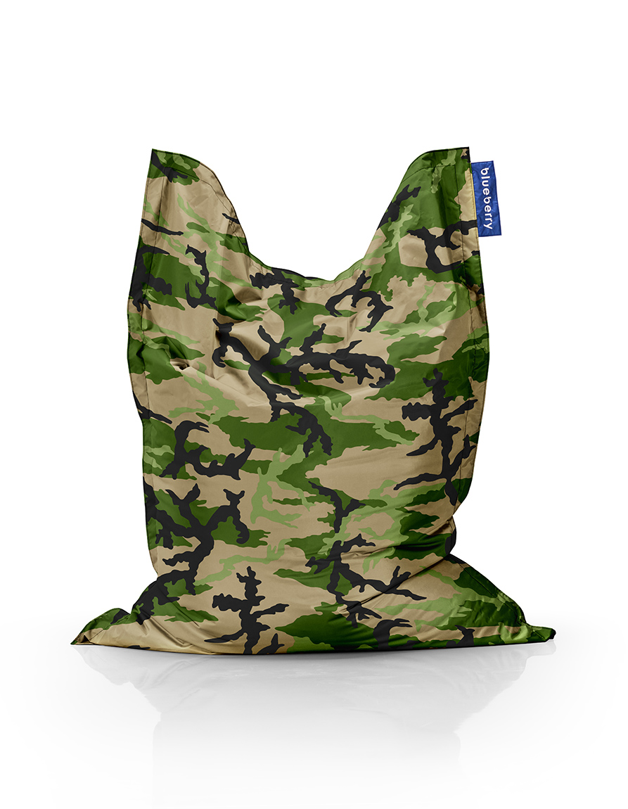 Blueberry CAMO Bag